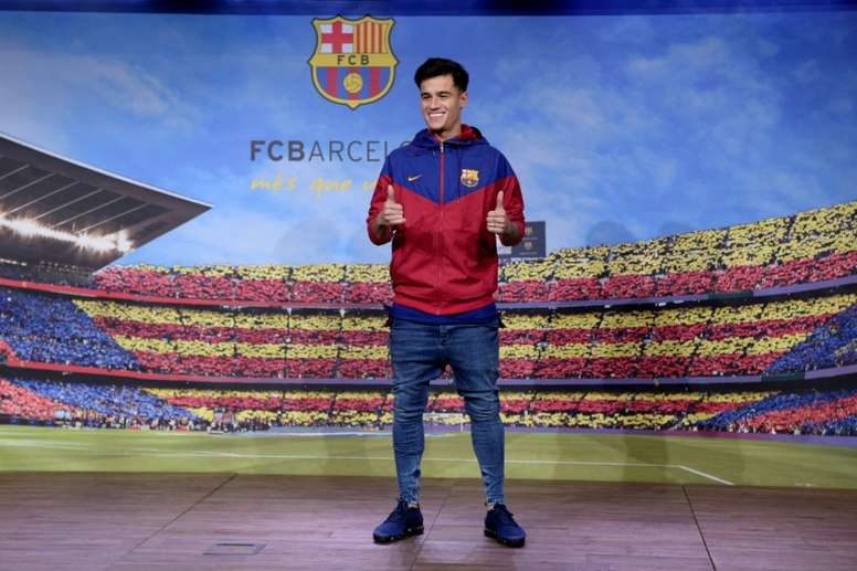 'AS': Coutinho thinks Barça are giving him the cold shoulder. AFP