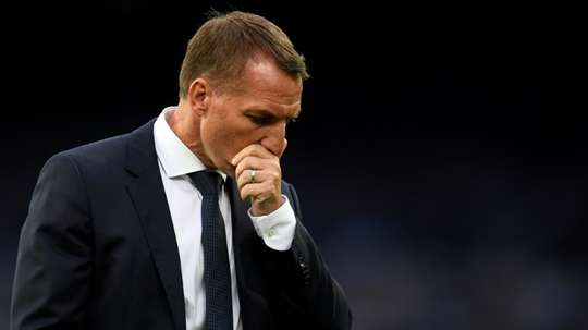 Leicester need to 'reset mentally' to reach Champions League, says Rodgers. AFP