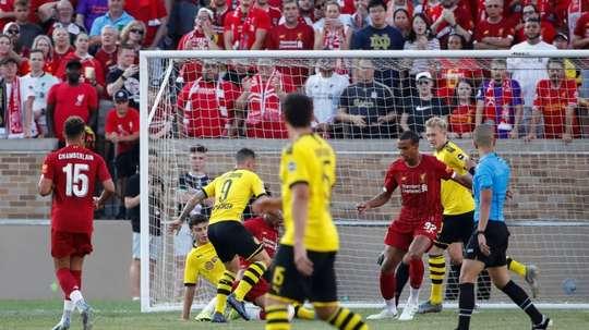 Dortmund sink Liverpool in US tour opener.