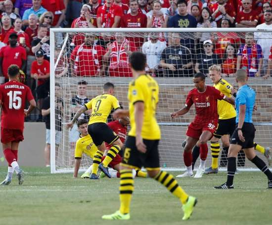 Dortmund sink Liverpool in US tour opener.