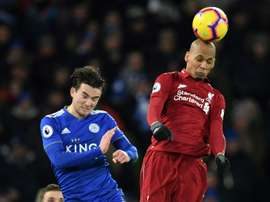Liverpool's defensive crisis means Fabinho must be used as a centre-back for Klopp's men. AFP