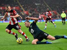 Southampton first Premier League club to defer players' wages. AFP