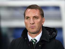Brendan Rodgers has defended the Celtic fans who have been accused of racial abuse. AFP