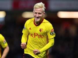 Hughes a marqué et effectué une passe décisive permettant la victoire de Watford face à West Ham. AF