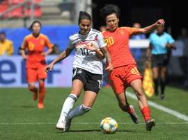 Marozsan picked up a toe injury in victory over China. AFP