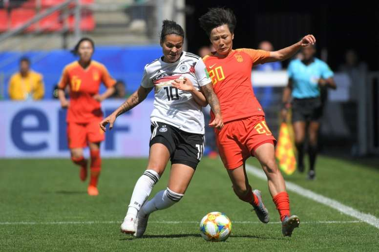 Marozsan could return from her broken toe at the World Cup. AFP