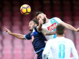 Gilardino podría proseguir su carrera en el Spezia Calcio. AFP