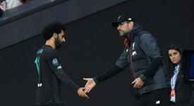 El Liverpool no se pareció nada al equipo imbatible de la Premier League. AFP