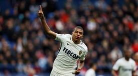 El futbolista del Mónaco ha dado a conocer públicamente su mejor once. AFP