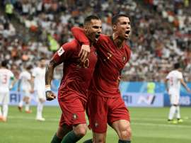 Portugal drew 1-1 with Iran. AFP