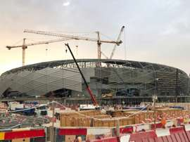 Qatar postpones launch of new 2022 World Cup venue. AFP