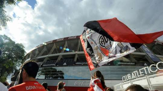 River will leave for Madrid on Wednesday. AFP