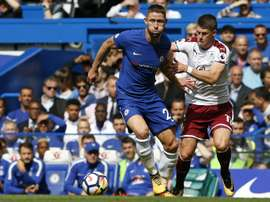 Chelsea se rend à Burnley. AFP