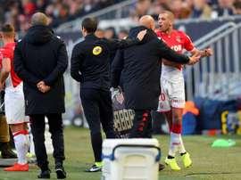 Bordeaux edge 10-man Monaco to go third in Ligue 1. AFP