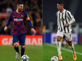 Messi will face Ronaldo. AFP