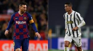 Messi will face Ronaldo. AFP