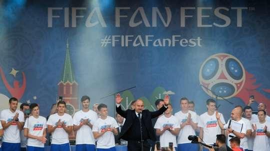 Cherchesov s'est adressé au pays. AFP
