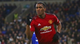 Anthony Martial can emulate Cristiano Ronaldo. AFP