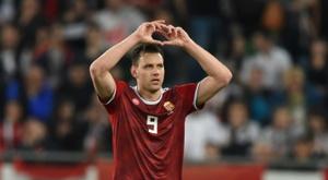 Croacia naufragó ante el conjunto húngaro. AFP