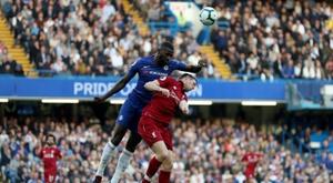 Hoje é dia de Chelsea x Liverpool. AFP