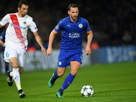 Danny Drinkwater could join Antonio Conte's Chelsea. AFP