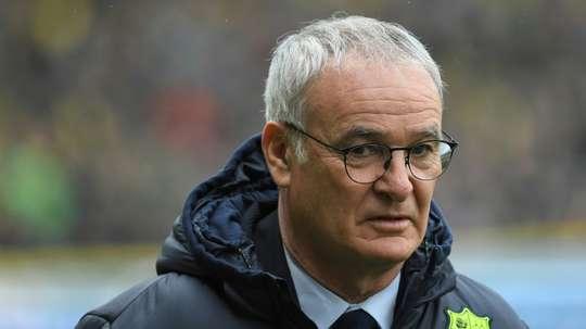Ranieri is back in English football. AFP