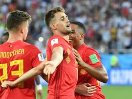 Januzaj scored against England in the World Cup. AFP