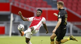 Kudus rompeu o menisco contra o Liverpool. AFP
