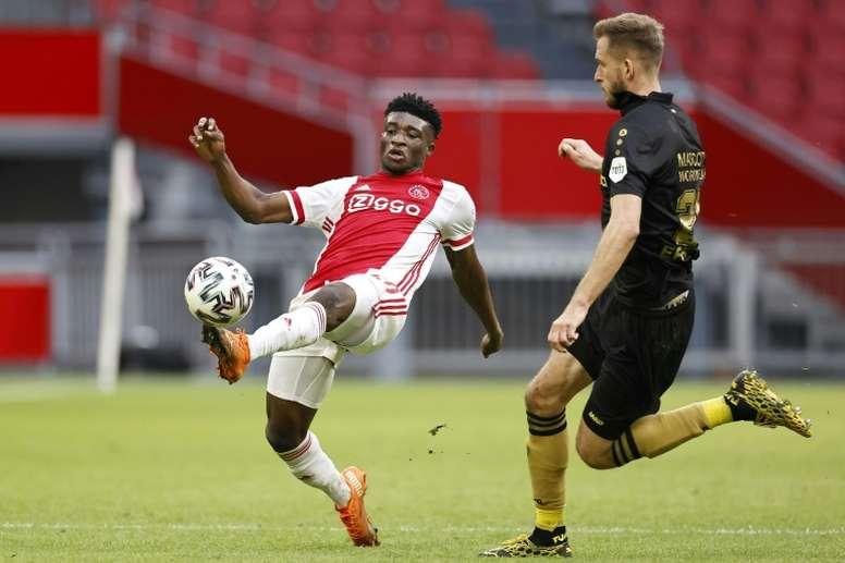 Kudus se rompió el menisco contra el Liverpool. AFP
