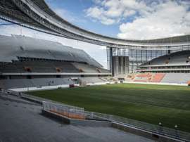 Construction is complete on the Yekaterinburg Arena ahead of the World Cup. AFP