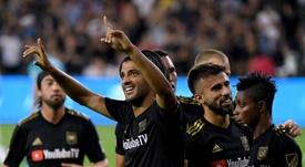 Aduriz sueña con ganar la MLS. AFP