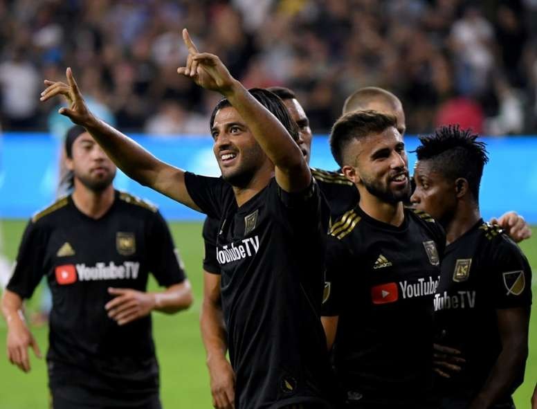 Vela double sends Ibrahimovic, Galaxy crashing out of playoffs. AFP