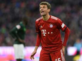 Thomas Mueller has played a vital part in Bayern's recent success. AFP
