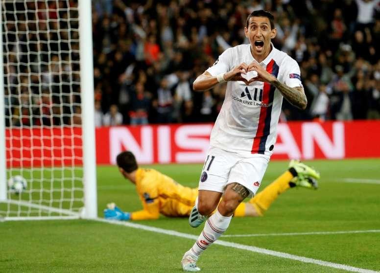 El PSG le mete 3-0 al Madrid. AFP