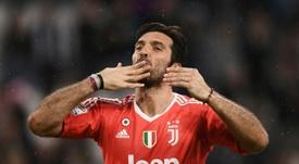 Buffon le célebre gardien de la Juventus. AFP