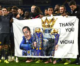 Leicester have paid tribute. AFP