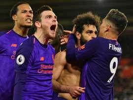 Klopp never doubted Salah's class as Liverpool reclaim top spot. AFP