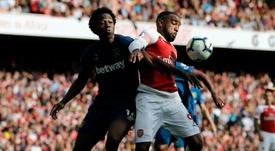 Issa Diop continuaria no West Ham. AFP
