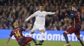 El Real Madrid-Barça es uno de los grandes clásicos del fútbol mundial. AFP