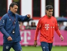 Kovac confirms Coutinho will not start Schalke clash. AFP