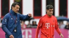 Coutinho no ha triunfado ni con Kovac ni con Flick. AFP