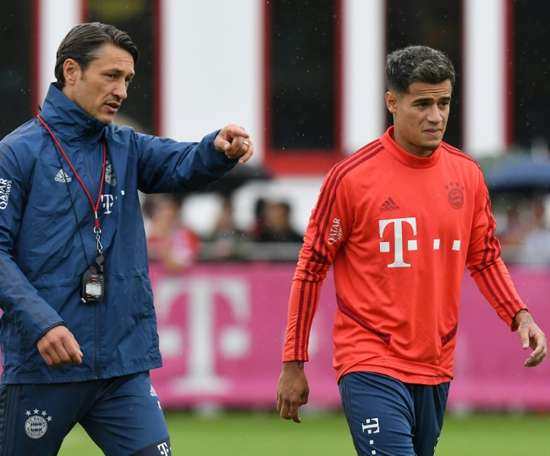 Kovac confirms Coutinho will not start Schalke clash. AFP