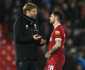 Ings formó parte del temible Liverpool de Klopp. AFP
