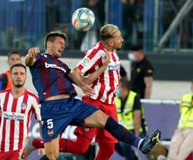 Atletico got a 0-1 win over Levante while Getafe drew. AFP