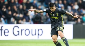 The Man City player has also played for Juventus. AFP