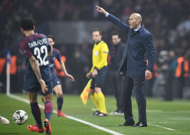 Zidane é um líder no Real Madrid. EFE
