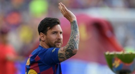 Troubled Barcelona look to Messi for inspiration