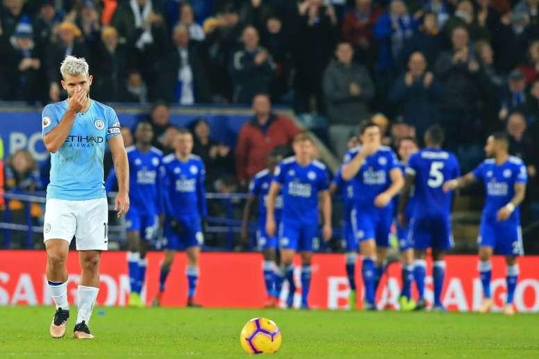 El Leicester ha dado una lección al City. AFP