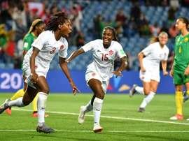 Les compos probables du match de Coupe du Monde féminine entre la Suède et le Canada. AFP