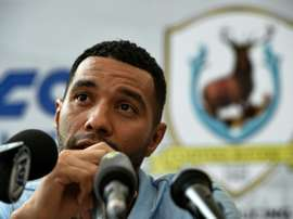 Jermaine Pennant is departing the Tampines Rovers in Singapore after only  months. AFP